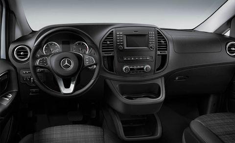 Interior de la furgoneta Mercedes-Benz Metris Work Van 2021