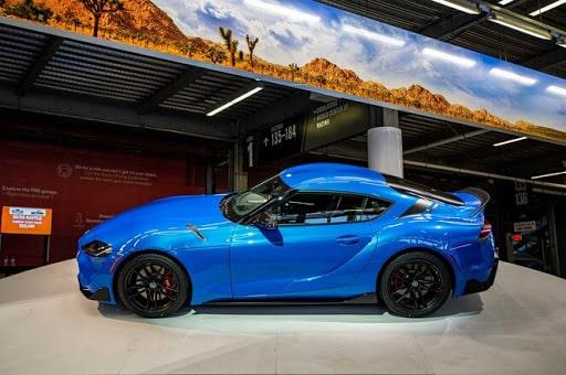 Toyota Supra 2021 lateral