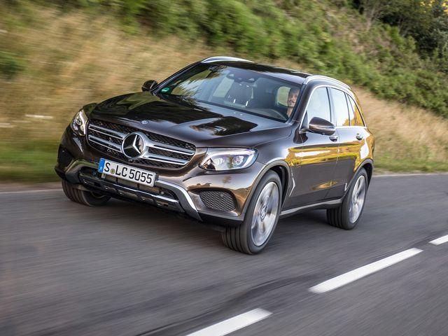 2023 Mercedes-Benz GLC delantero