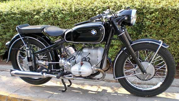 570 Los cinco mejores modelos de motocicletas BMW de la década de 1950