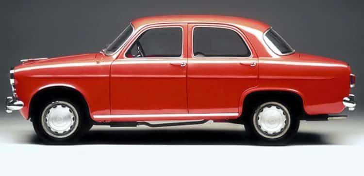 63 Berlina Historia y evolución del Alfa Romeo Giulietta