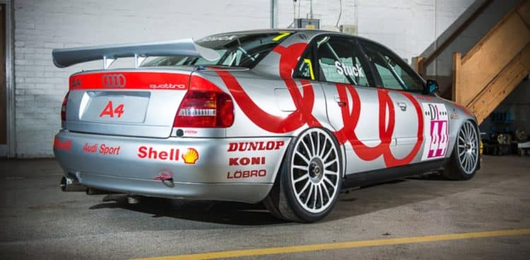 A4 Racing History and evolution of the Audi A4