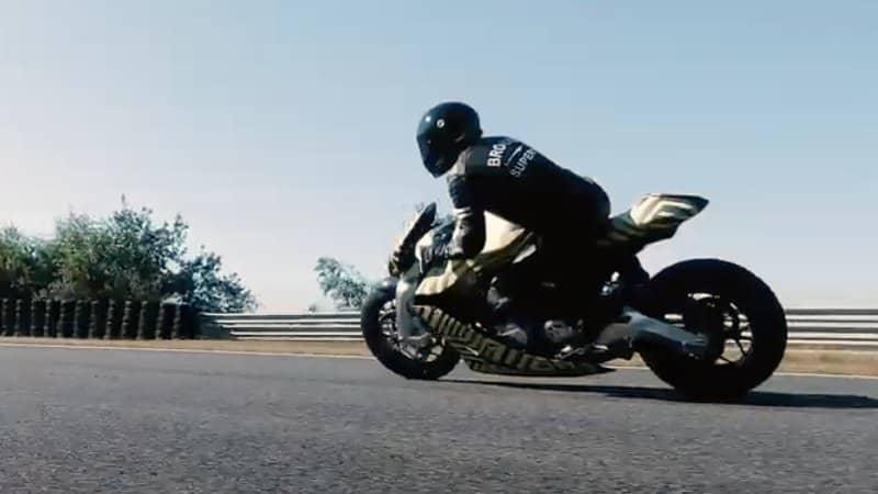 Aston Martin AMB 001 Motorcycle 2 Una mirada más cercana a la motocicleta Aston Martin AMB 001