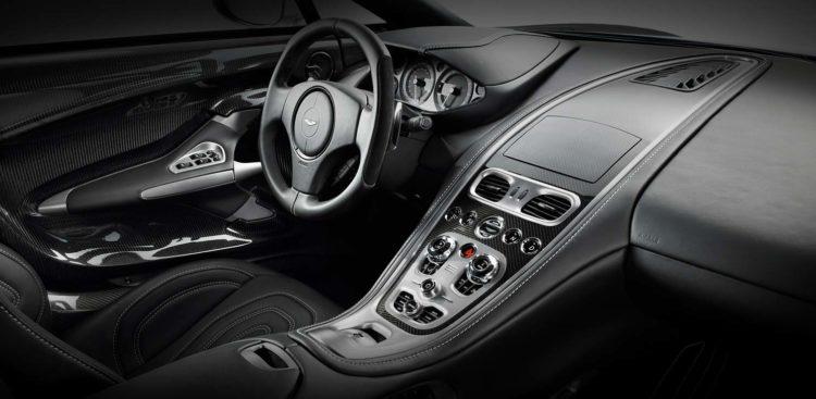 Aston Martin One 77 Interior La historia y evolución del Aston Martin One-77