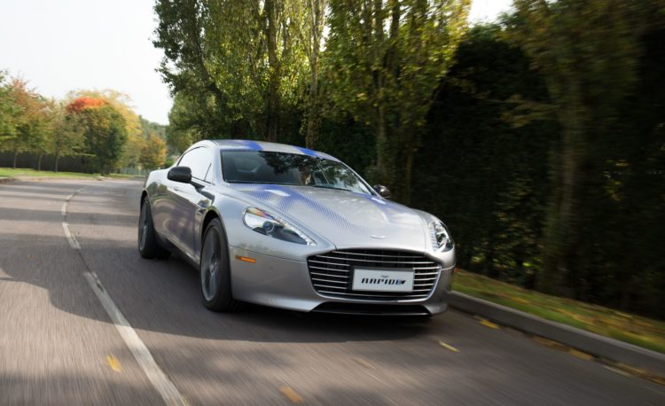 Aston Martin RapidE prototype 102 20 coches eléctricos que no podemos esperar a ver en 2020