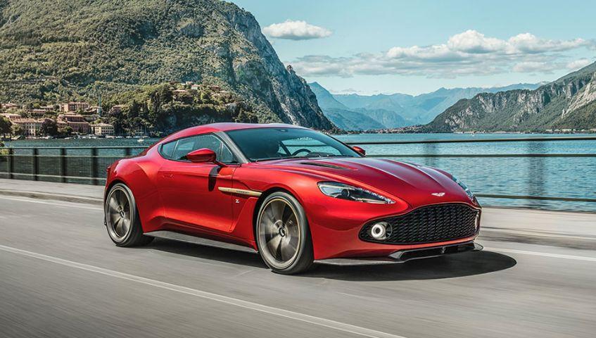 Aston Martin Vanquish Zagato Los cinco mejores modelos de Aston Martin de edición especial de todos los tiempos