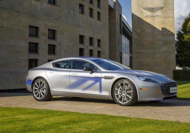 Aston martin rapid e Los 10 coches eléctricos más esperados para 2018