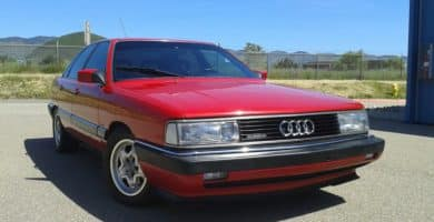 Audi 5000 1 Cómo el Audi 5000 influyó en el futuro del fabricante de automóviles