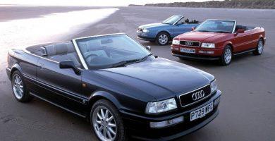 Audi Cabriolet Los diez mejores modelos de Audi de la década de 1990