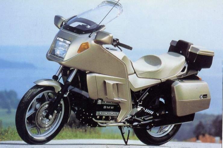 BMW K100LT 87 1 Las 10 mejores motocicletas BMW de los años 80