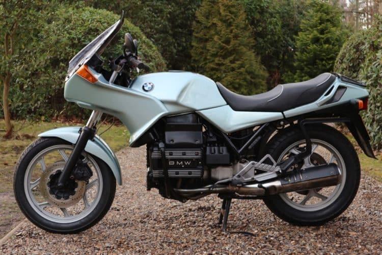 BMW K75S 1 Las 10 mejores motocicletas BMW de los años 80