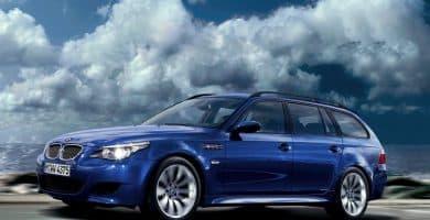 BMW M5 Touring E61 Las 10 mejores camionetas BMW de todos los tiempos