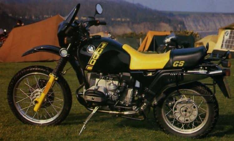 BMW R100GS 87 5 Las 10 mejores motocicletas BMW de los años 80