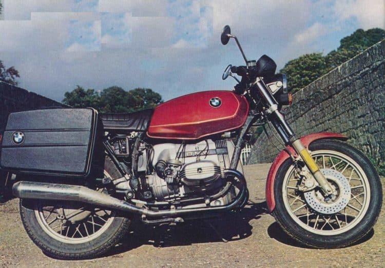 BMW R45 80 Las 10 mejores motocicletas BMW de los años 80