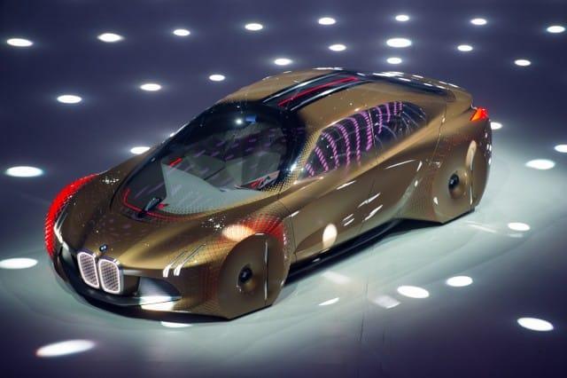 """BMW Vision Next 100 2 Impresionante y futurista """"Vision Next 100"""" Concept Car de BMW"""