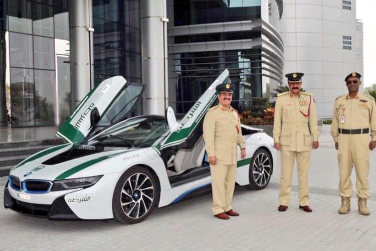 BMW i8 Dubai The Amazing Dubai Police Cars