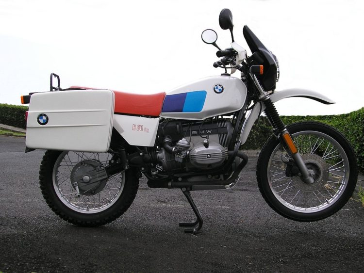 BMW R80GS GENUINE 2 Las 10 mejores motocicletas BMW de los años 80