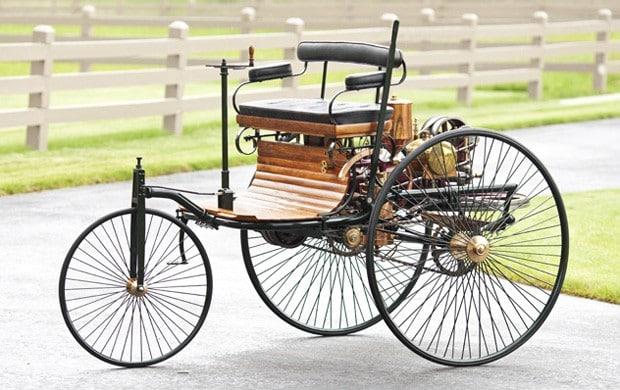 Benz Patent Motorwagen 1886 Cinco automóviles legendarios que cambiaron la fabricación de automóviles para siempre