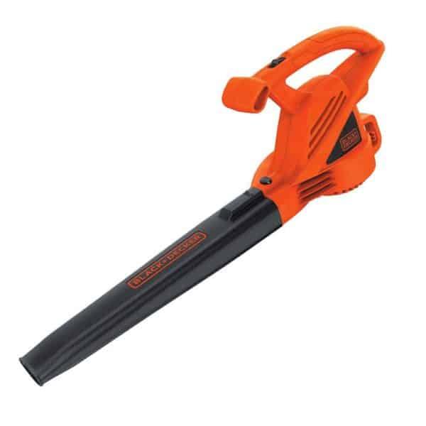 Black Decker 7 Amp 180 CFM Corded Electric Leaf Blower Los cinco mejores sopladores de hojas eléctricos del mercado actual