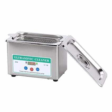 CO Z Small Stainless Steel Ultrasonic Jewelry Cleaner with Timer Digital Los cinco mejores limpiadores de joyas eléctricos del mercado actual