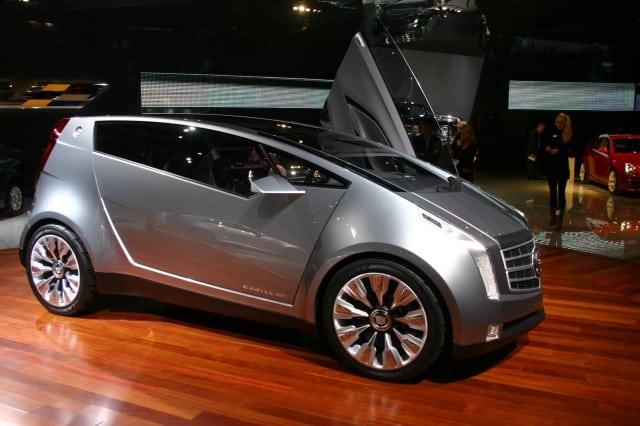 Concepto de lujo urbano Cadillac