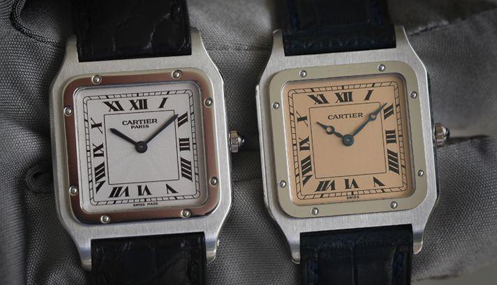 Cartier Santos Dumont Los cinco mejores relojes Cartier de edición especial de todos los tiempos