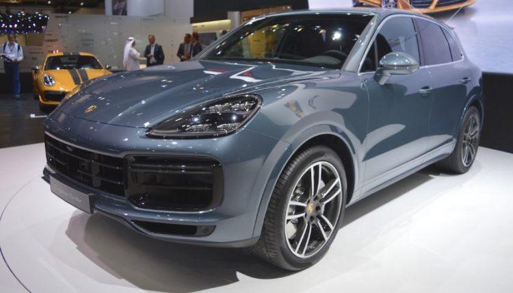 Cayenne Cinco autos asombrosos del Salón Internacional del Automóvil de Dubai 2017