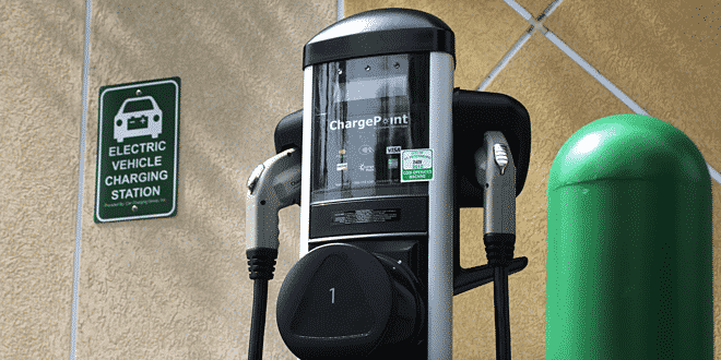 ChargePoint ChargePoint dice que puede cargar su automóvil un 800% más rápido