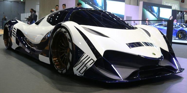Devel Cinco autos asombrosos del Salón Internacional del Automóvil de Dubai 2017