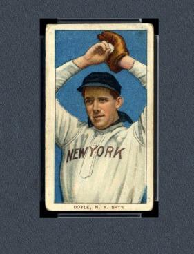 Las 20 tarjetas de béisbol más caras y valiosas de Doyle de 2019