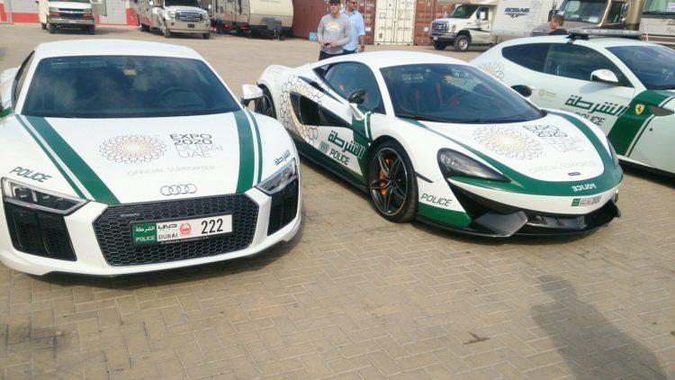 Dubai Audi The Amazing Dubai Police Cars