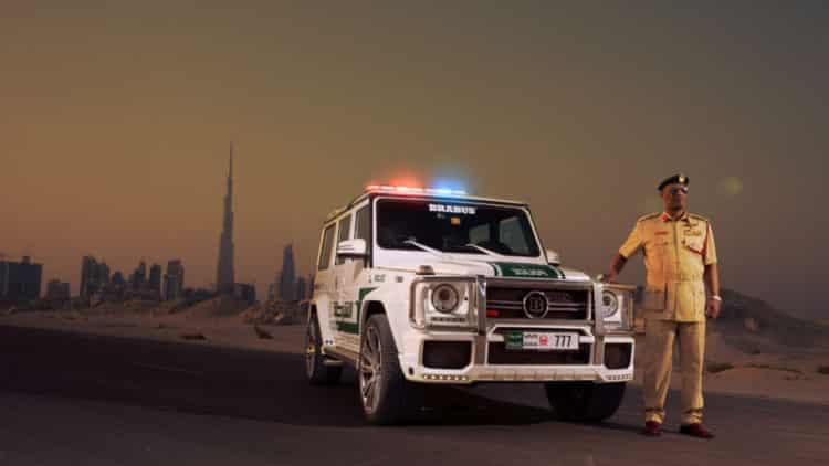 Dubai Brabus The Amazing Dubai Police Cars