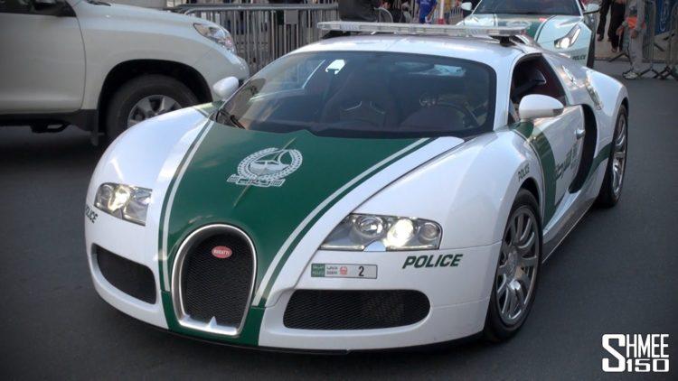 Dubai Police Bugatti The Amazing Dubai Police Cars