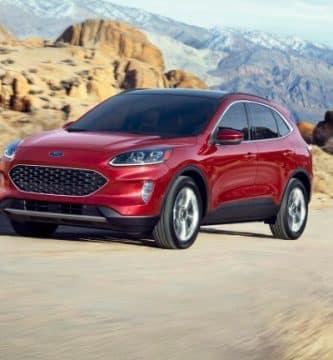Escape Una mirada más cercana al Ford Escape 2020
