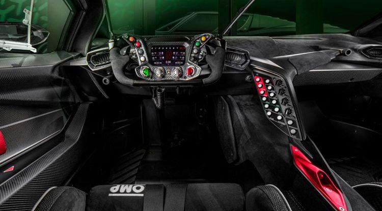 Essenza Interior El Lamborghini Essenza SCV12 2021