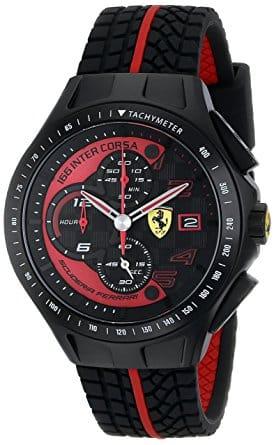 Reloj de cuarzo Ferrari 0830077 para hombre Los cinco mejores relojes Ferrari que el dinero puede comprar