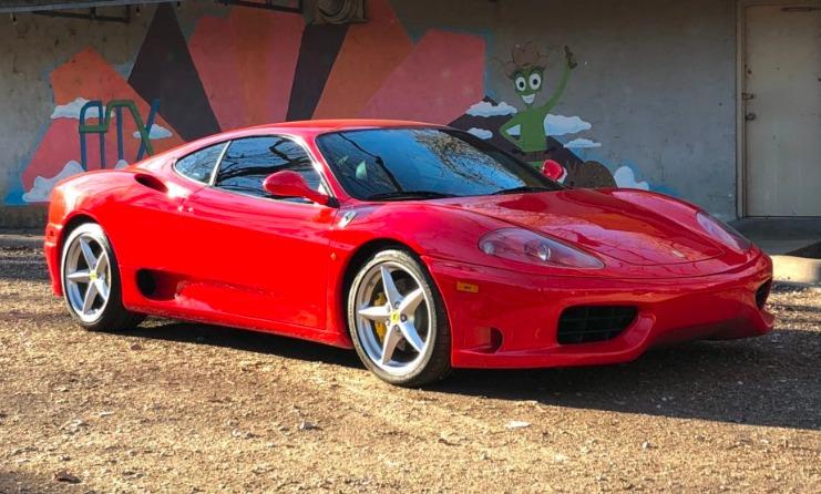Ferrari 360 Lead La historia y evolución del Ferrari 360