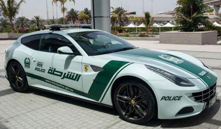 Ferrari FF Dubai Police 2 Amazing Dubai Police Cars