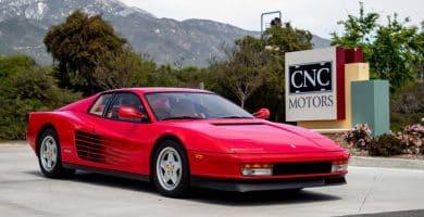 Ferrari Testarossa 10 mejores modelos de Ferrari Testarossa de todos los tiempos