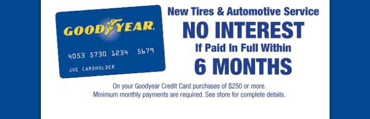 GoodyearCreditCard 10 beneficios de tener una tarjeta de crédito Goodyear