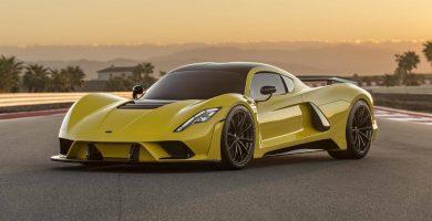 Hennessey Venom F5 20 autos legales de calle con las velocidades máximas más altas