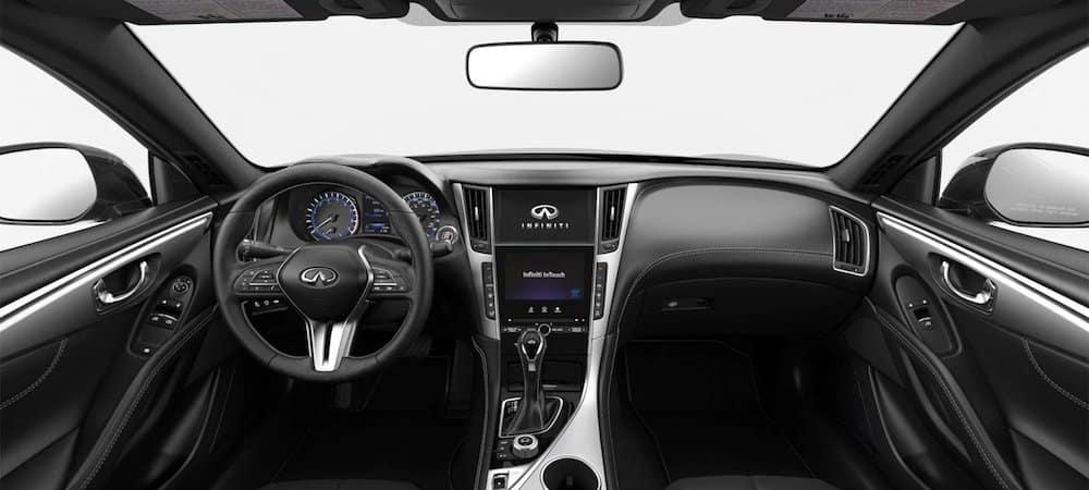 Interior of an Infiniti Lo que diferencia el interior de un Infiniti de otros autos