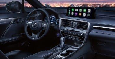 Lexus Interior ¿Qué hace que el interior de un Lexus sea diferente de otros automóviles?