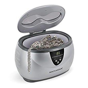 Limpiador de joyas ultrasónico profesional Magnasonic con temporizador digital Ahorre los cinco mejores limpiadores de joyas eléctricos en el mercado hoy