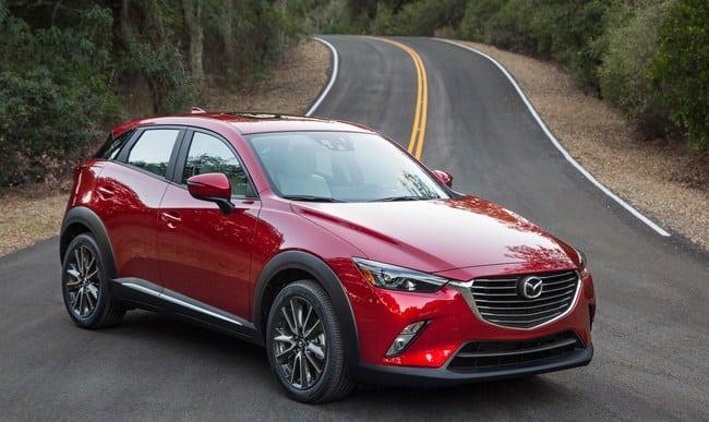 Mazda CX 3 Los diez SUV más importantes de 2018 a tener en cuenta