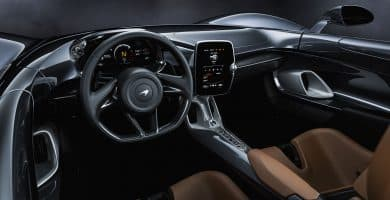 McLaren ¿Qué diferencia a los interiores de McLaren de otros autos?