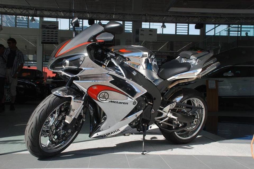 McLaren Make Motorcycles ¿McLaren fabrica motocicletas?