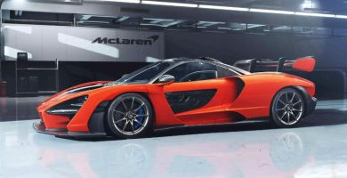 McLaren Senna Se lanza el McLaren Senna más nuevo y ligero