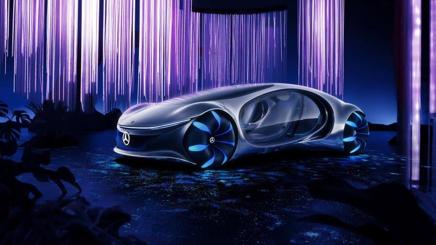 Mercedes Benz Vision AVTR El concepto Mercedes-Benz Vision AVTR