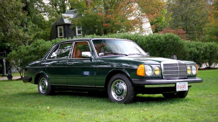 Mercedes Benz W123 Los 20 mejores modelos de Mercedes de todos los tiempos